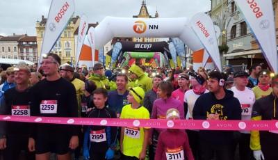 Night Run v Českých Budějovicích přilákal více než 1600 běžců