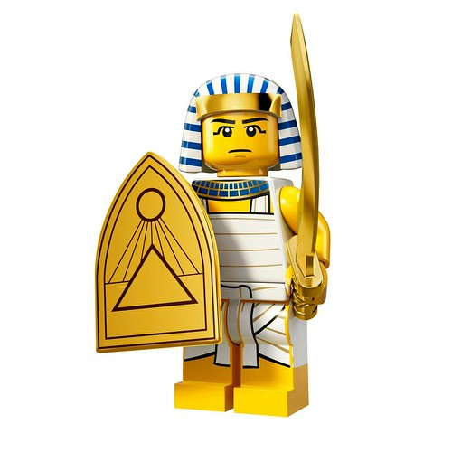 71008 Collectable Minifigures Series 13 Egyptian Warrior