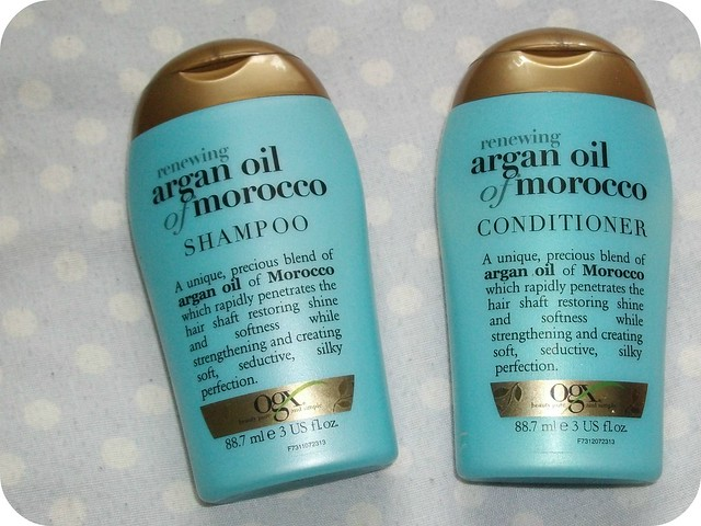 OGX Renewing Argan Oil Shampoo & Conditioner Review