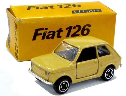 Mebetoys Fiat 126 promo