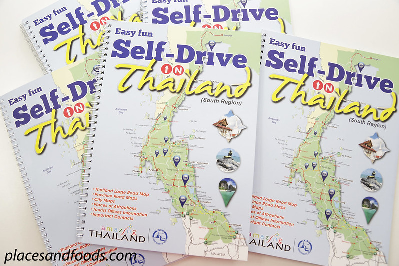 self drive in thailand books