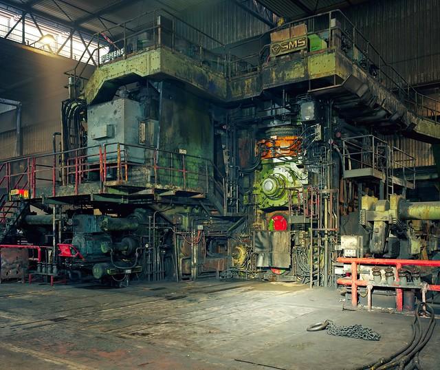 5. Hot Rolling Mill,ThyssenKrupp Steel, Duisburg_Thomas Struth
