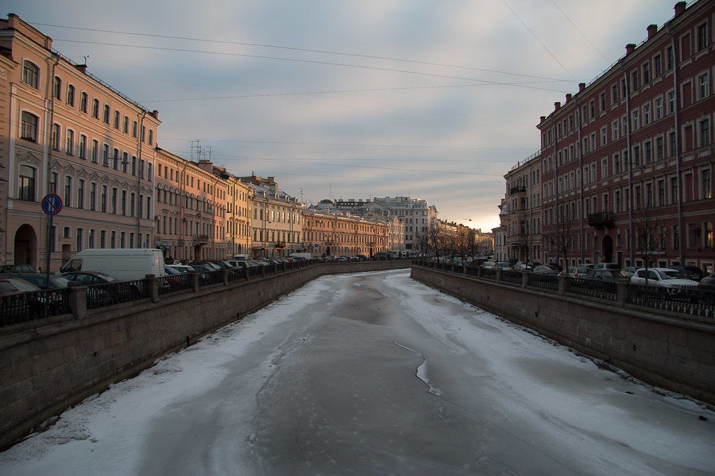 Canals in St. Petersburg