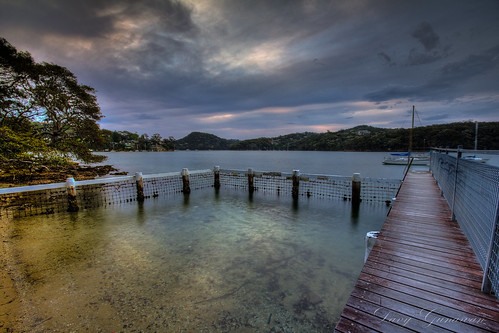 sunset swimming jetty manly enclosure mosman seaforth
