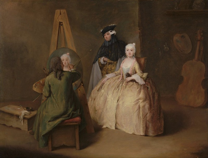 Pietro Longhi - The Painter in his Studio (c.1741)