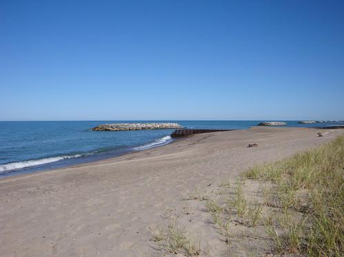 beach lakeerie pennsylvania greatlakes erie presqueislestatepark