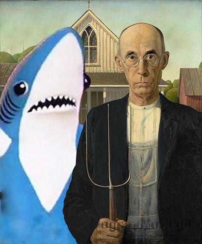 American Gothic Shark