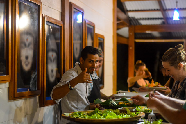 healthy food during 14-day yoga teacher training immersion