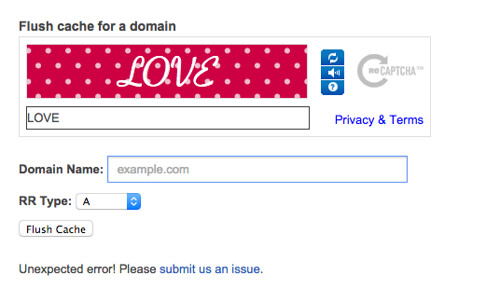 Google's reCaptcha se puso romántico.
