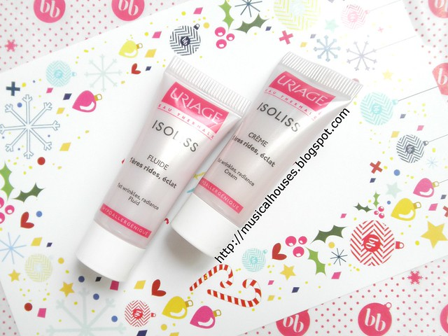 Bellabox December Isoliss Fluide and Creme