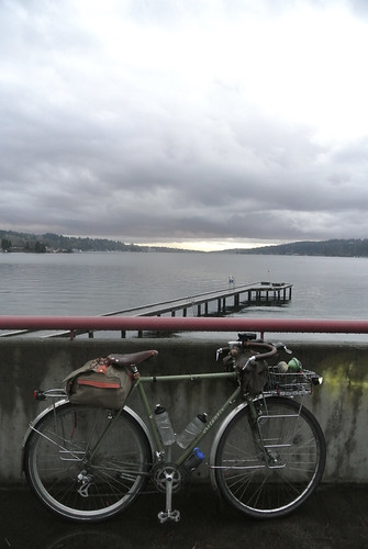 Rainy Winter Ride - Atlantis on Lake Washington