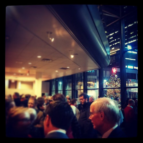 @genmae5 and I had a great time tonight @DowntownCincy's holiday party. Thanks for inviting us!