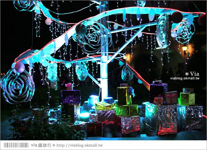 【萬金教堂】屏東萬金教堂聖誕季~3D光雕秀+耶誕地景藝術/全台最濃耶味小鎮!35