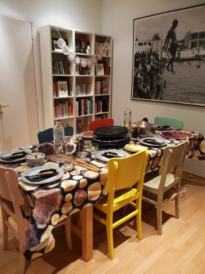 Ravacholle Lifestyle Blog | On hosting dinner parties, Raclette table