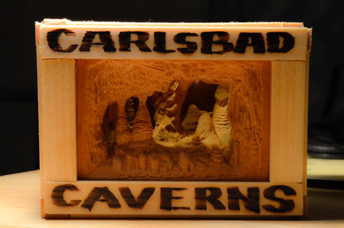 Carlsbad Caverns Souvenir Improvement (Wooden Box!)