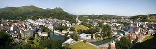 Panorama de la villa y los santuarios. ©OT Lourdes Studio GP Photo.