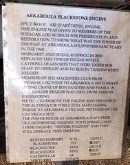 Arkaroola Blackstone Engine   c1960