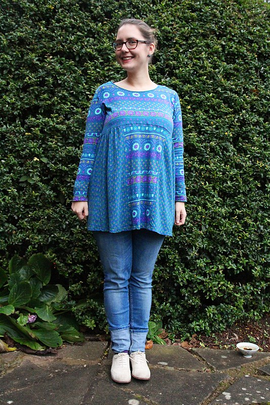 blue braintree tunic