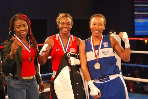 Three finalists 165 pound female