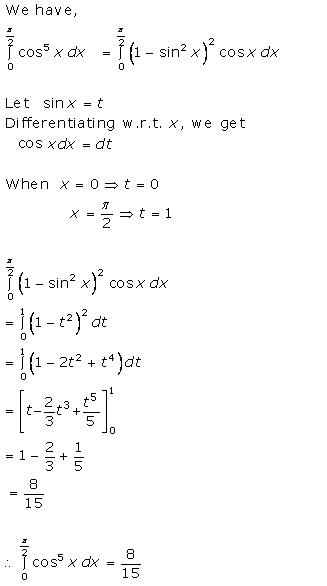 RD Sharma Class 12 Solutions Chapter 20 Definite Integrals Ex 20.2 Q46