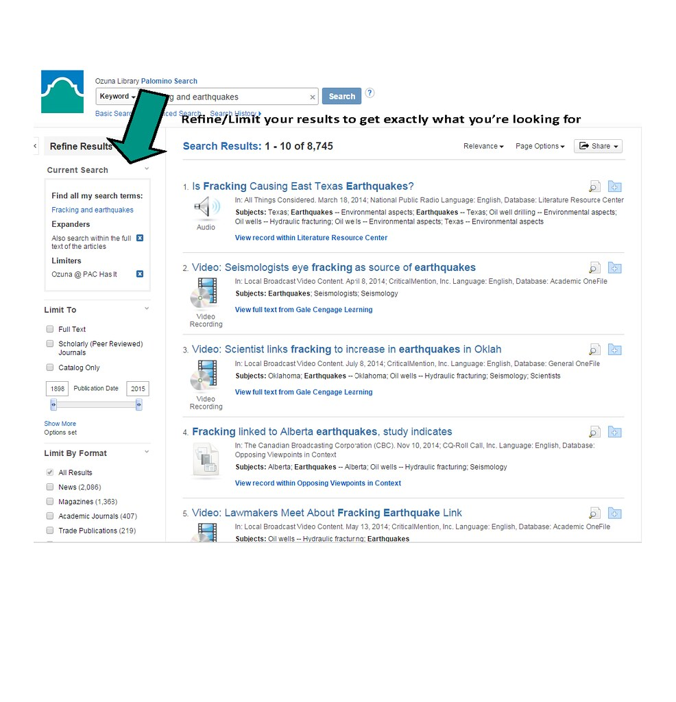 Palomino Search results from pdf