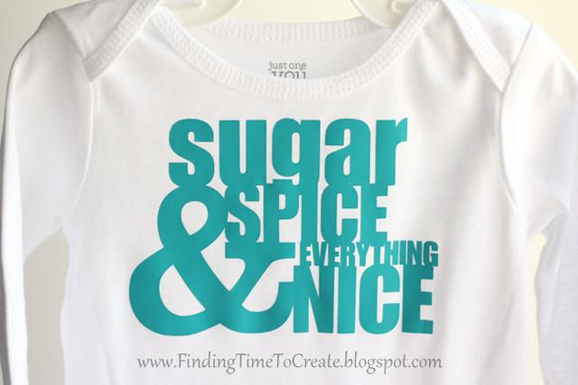 Heat Transfer Baby Onesies_Sugar & Spice 2