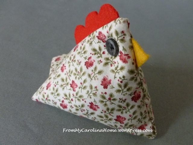 Chicken Pincushion - 13