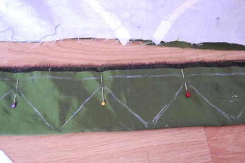 Sleeveless Spencer Construction 7