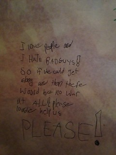 I Love People I Hate Bad Guys So If We Could All Get Along There Would Be No War At All! Please Lourde Help Us Please!