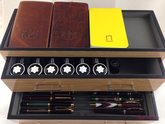 Review Wolf Designs Meridian Two Drawer Valet, Charging Station & Pen Box @Wolf1834 @Massdrop (10)