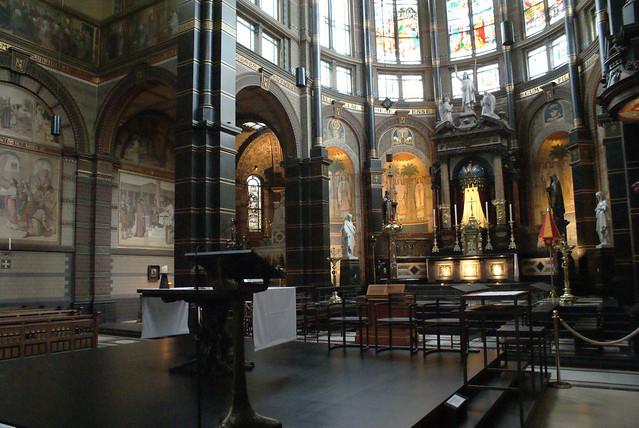 Choeur de l'église Saint Nicolas à Amsterdam