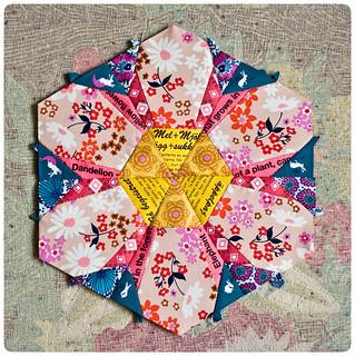 Hexagon flower - free pattern coming soon