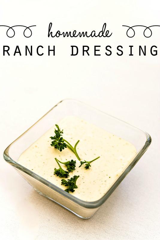 #ChooseSmart homemade ranch dressing recipe