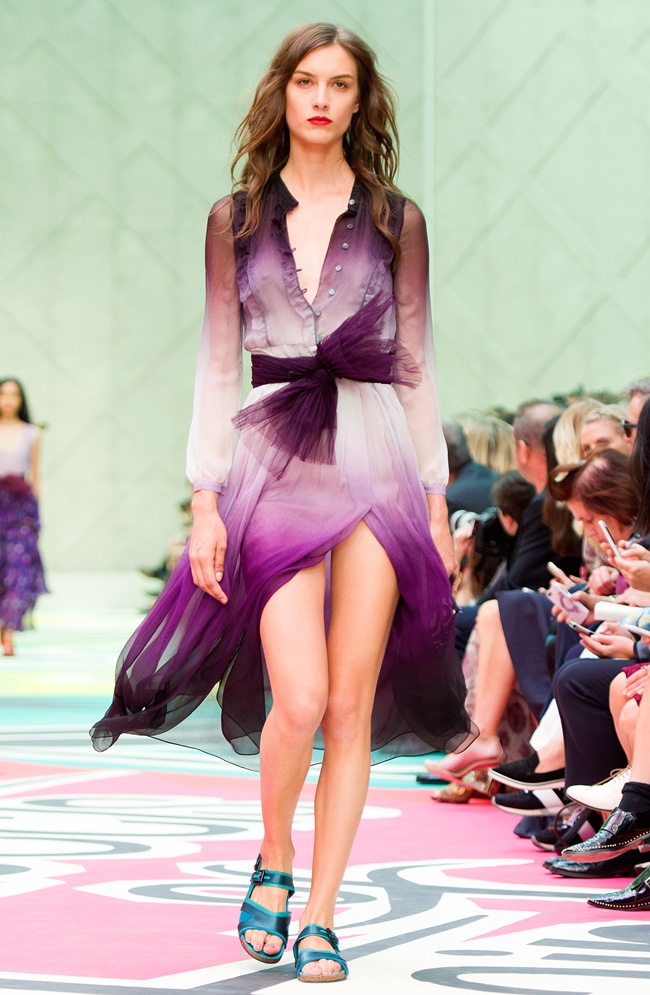 99 Burberry Prorsum Womenswear Spring Summer 2015