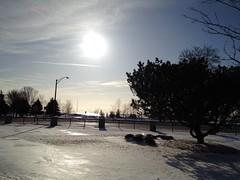 Sun Over Lake Michigan