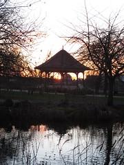 Ruskin Park sunset