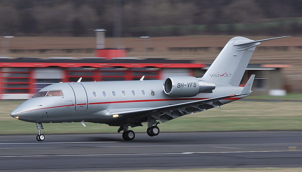 9H-VFB - CL60 - VistaJet