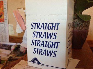 Straight Straws!