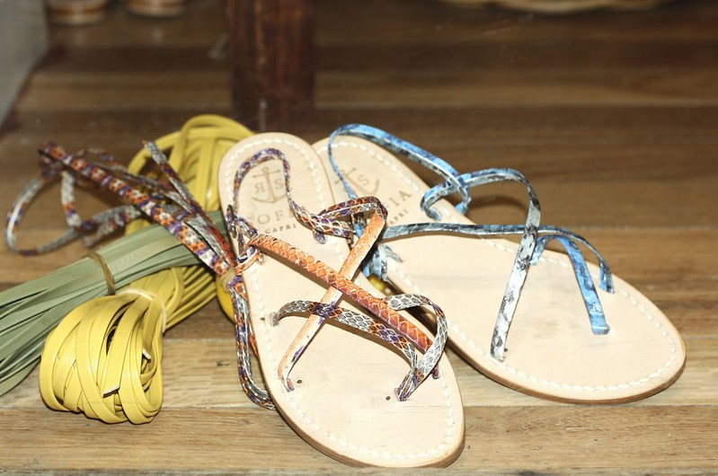 Italian handcrafted leather sandals