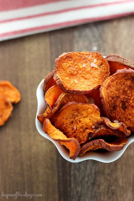 Cinnamon Sugar Sweet Potato Fries   beyondfrosting.com