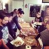 Thanks for the pizzas! @cpicciolini  @threadless