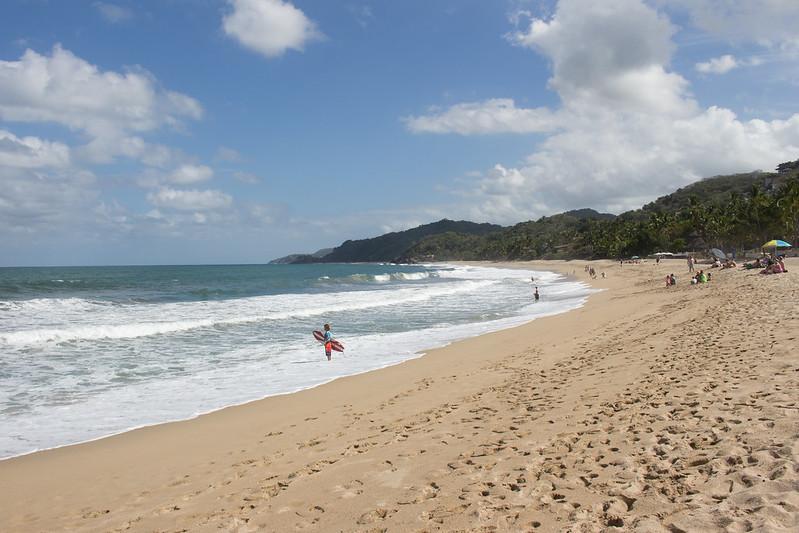 sunny beach, Sayulita, Mexico