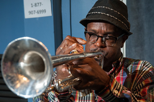 Kid Merv during WWOZ Spring Pledge Drive 2015. Photo by Ryan Hodgson-Rigsbee www.rhrphoto.com