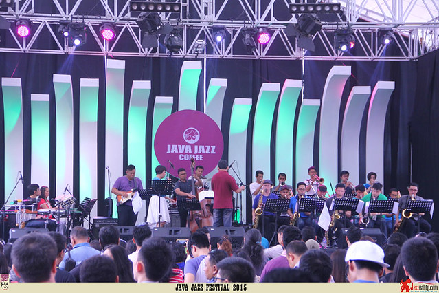 Java Jazz Festival 2015 Day 2 - Salamander Big Band