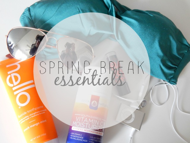 Check out these Spring Break essentials from A Thing of Beauty!
