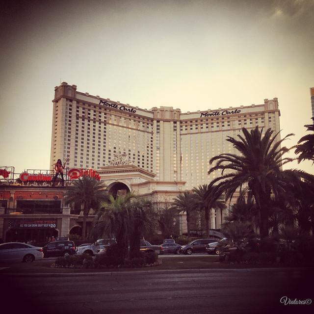 Отель Монте-Карло. Лас-Вегас. США. Hotel Monte Carlo. Las Vegas. USA