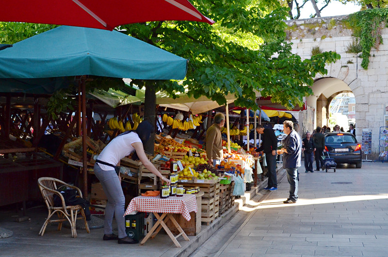 The Market, old town, Zadar, Croatia