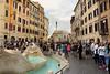 Piazza Espagna Roma - Italia.