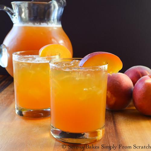 Peach Whiskey Iced Tea (1 of 1)