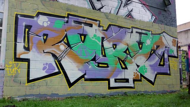 Oldenburg - Youth club Ofenerdiek ( street: Lagerstraße ) / 35th picture / Graffiti, street art